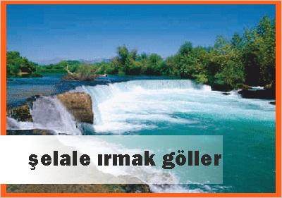 Antalyadaki Şelale Irmak Göller