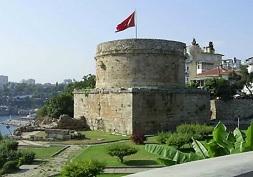 Antalyada Tarihi Yerler