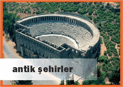 Antalyada Antik Şehirler