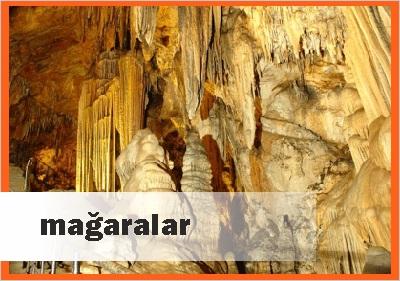 Antalyada Mağaralar