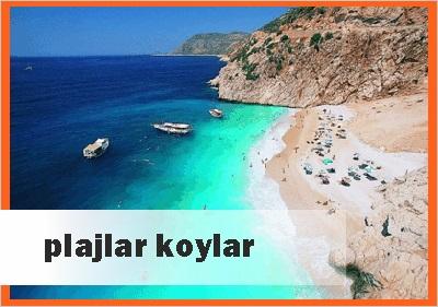 Antalyanın Plajları ve Koyları